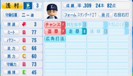 【アサムライオンズ!?】西武の浅村選手の成績とチームの勝率の驚くべき関係が明らかに!